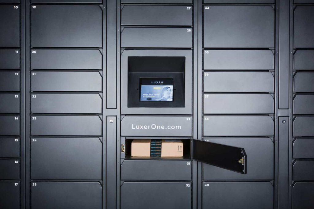 Open Add-On Unit Luxer One Parcel Locker
