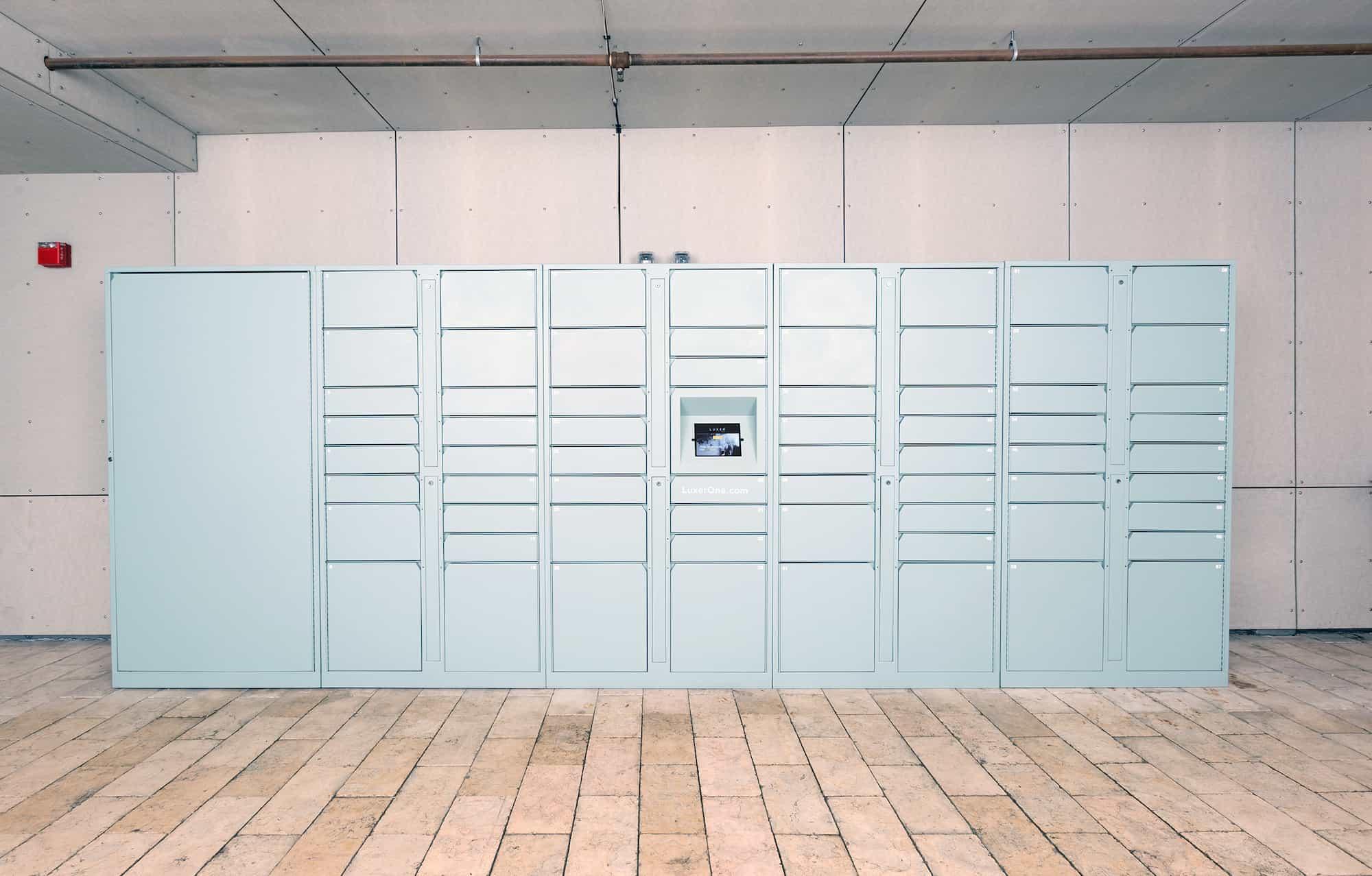 Blue Luxer One Indoor Parcel Lockers