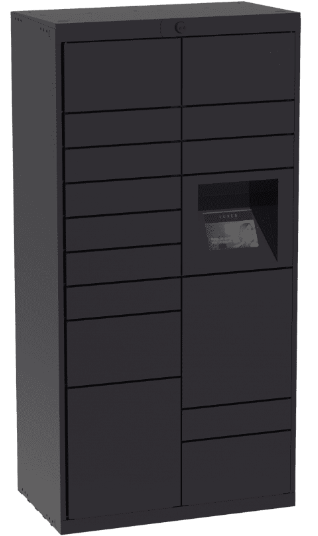 indoor parcel lockers
