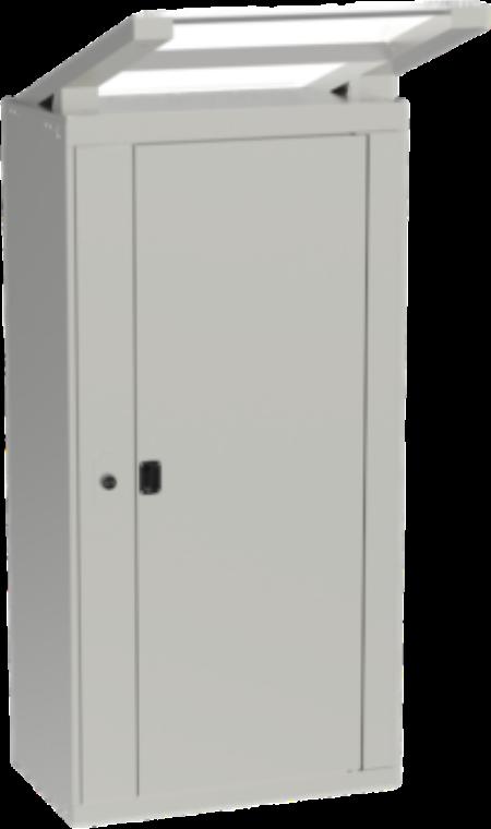 Outdoor Luxer One Parcel Locker Overflow Unit