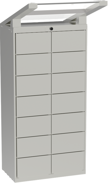 Photo of a Luxer One Medium Outdoor Unit
