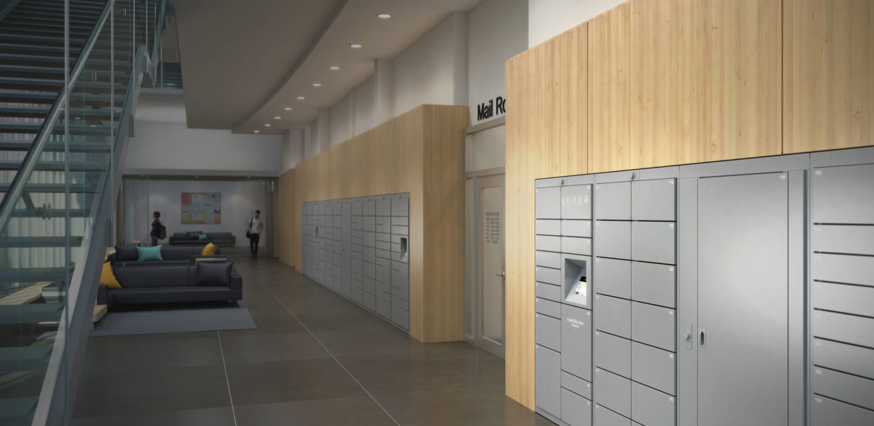 Luxer One Parcel Lockers for Universities