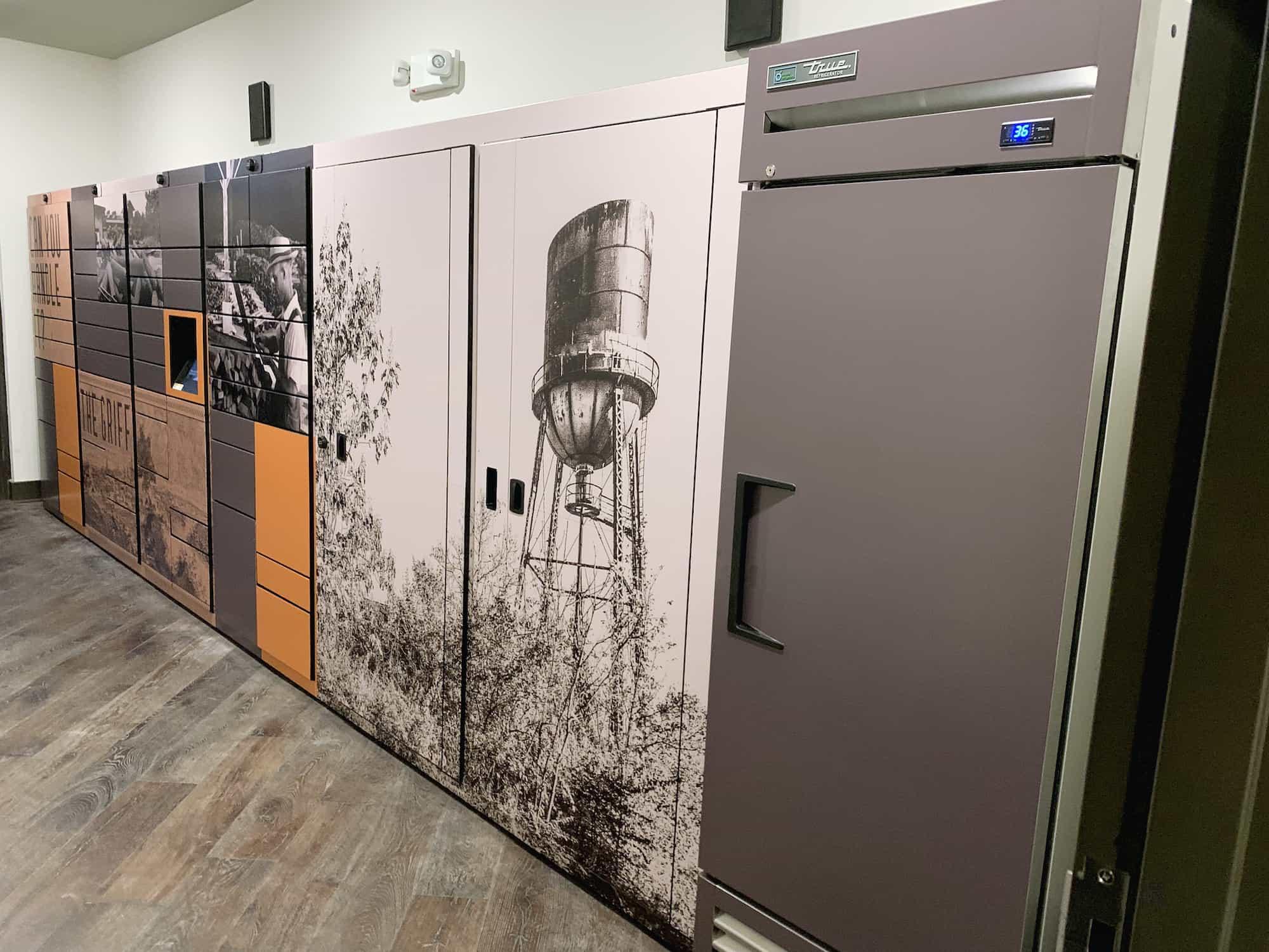Luxer One Fridge Refrigerated Lockers