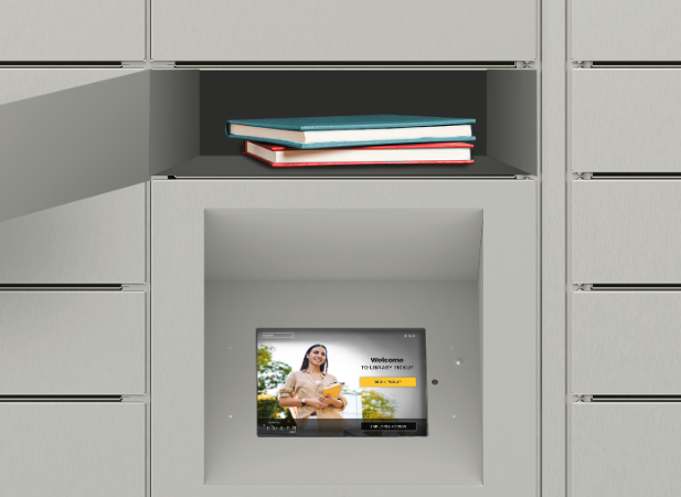 Luxer One Smart Library Lockers