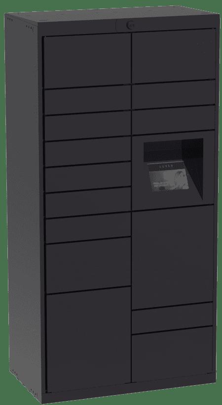 Luxer One Main Unit Black Indoor